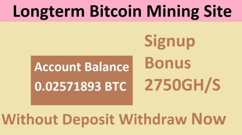 Free Bitcoin Mining Site 2021-Free Cloud Mining Site 2021-Bestmining Review