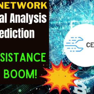CELER NETWORK PRICE ALERT, PREDICTION & ANALYSIS!  CELR NEEDS TO CROSS OVER THIS KEY RESISTANCE.