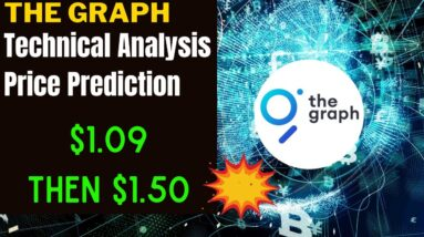 THE GRAPH GRT PRICE ALERT, PREDICTION & ANALYSIS!  GRT CRYPTO IS BREAKING OUT - $1.09 & THEN $1.50