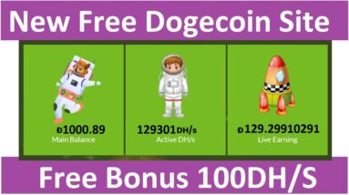 New Free Cloud Mining Site 2021-New Free Dogecoin Mining Site 2021-Spacedogemining Review