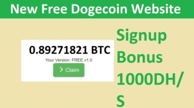 New Free Dogecoin Mining Site 2021-Free Cloud Mining Site 2021-Queek Review